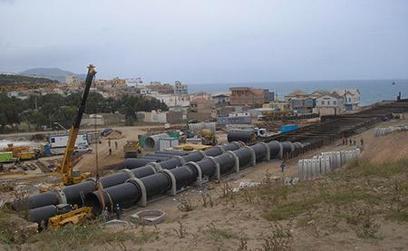 Proyecto Constructivo de las conducciones submarinas de la desaladora de Beni Saf
