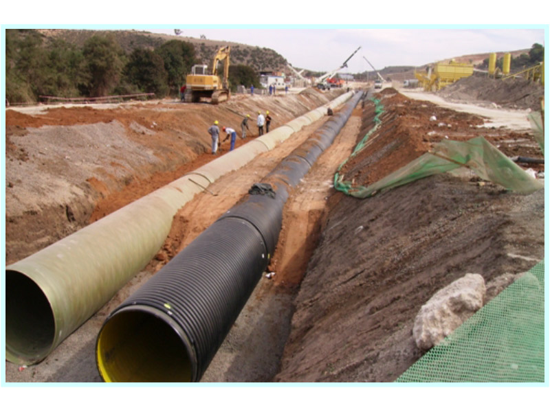 CONSTRUCTION DESIGNS OF THE SUBMERGED AND DRIVE PIPELINES FOR THE BENI-SAF DESALINATION PLANT (ALGERIA)