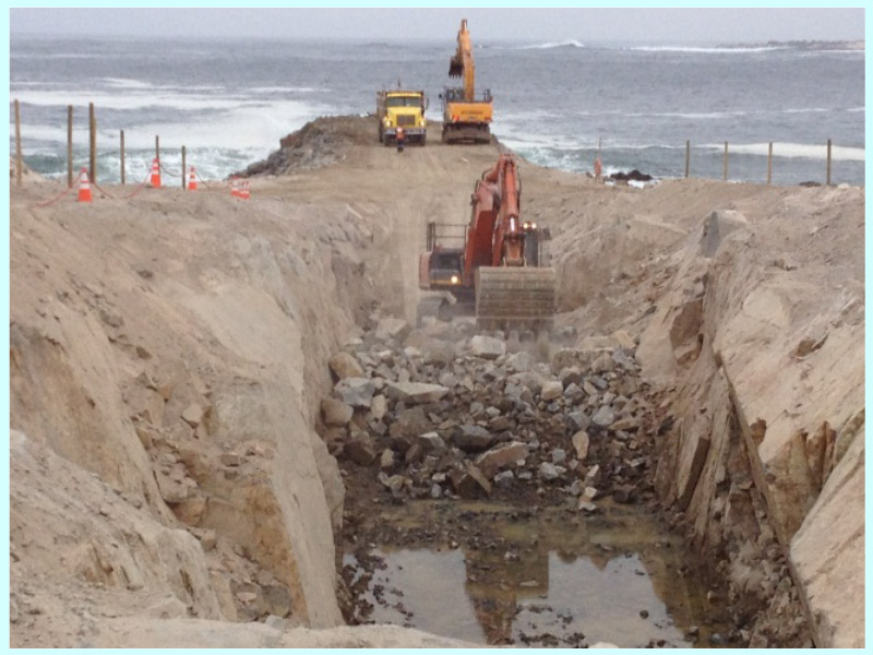 CONSTRUCTION PROJECT FOR THE MANTOVERDE DESALINATION PLANT UNDERWATER PIPELINES (CHILE)