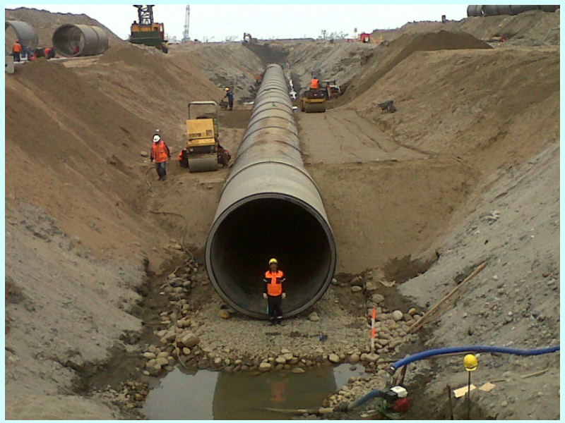 CONSTRUCTION PROJECT OF THE DISCHARGE PIPELINE FOR THE SEWAGE TREATMENT PLANT OF LA TABOADA (LIMA, PERU)