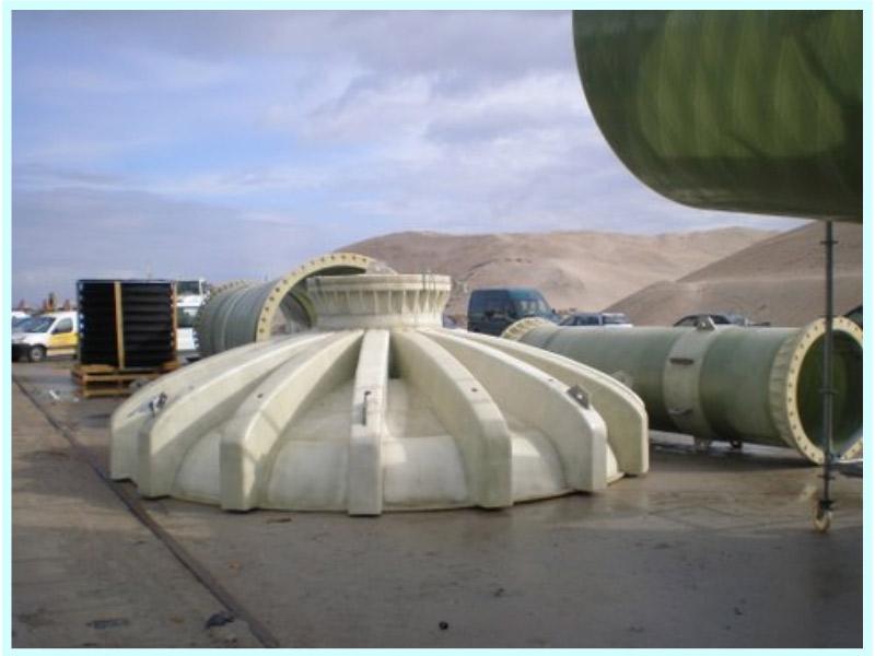 Proyecto de reparación de las conducciones submarinas de la piscifactoría en Mira (Portugal)
