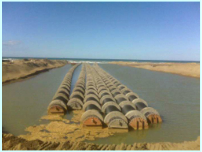 RESIZING AND OPTIMIZATION OF UNDERWATER PIPES AT THE MOSTAGAMEN DESALINATION PLANT (ALGERIA)