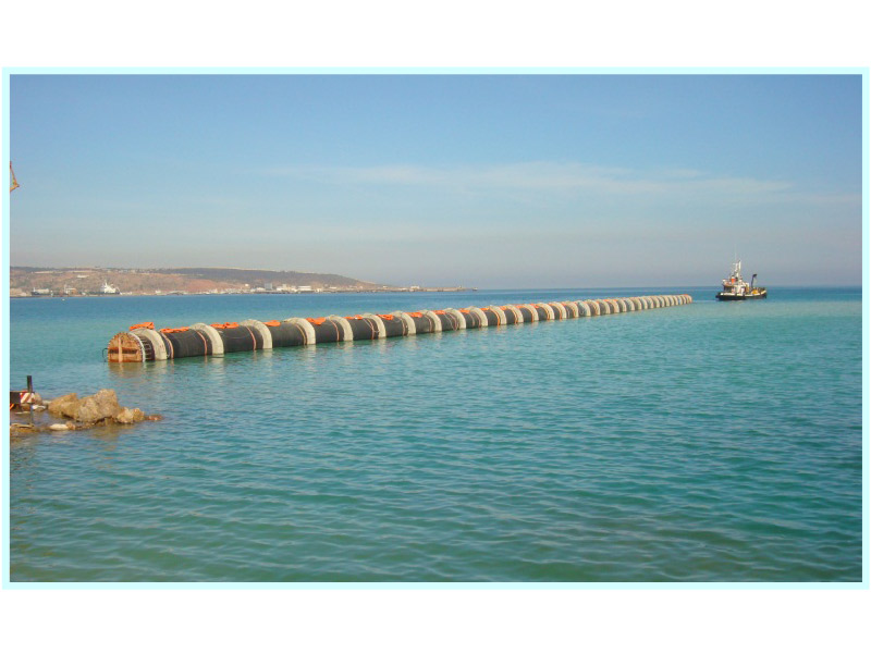 CONSTRUCTION PROJECT FOR THE NEW SEAWATER INTAKE PIPELINE FOR THE CHEMICAL PLANT IN ARZEW (ALGERIA)