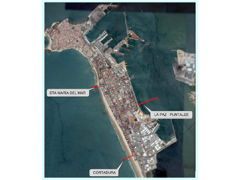 STUDY OF THE MARITIME CONDITIONS OF THE STORM SEWERS IN  THE CITY OF CADIZ, SPAIN
