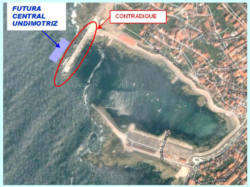 "BASIC PROJECT FOR THE WAVE POWER PLANT AT THE ""LA GUARDIA"" PORT (PONTEVEDRA, SPAIN)"