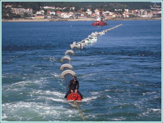 Detailed engineering for the outfall in Punta Touro, Ribeira (Spain)