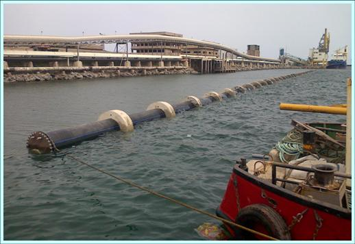 THE NUNGUA DESALINATION PLANT UNDERWATER PIPELINES (REPUBLIC OF GHANA), CONSTRUTED PROJECT