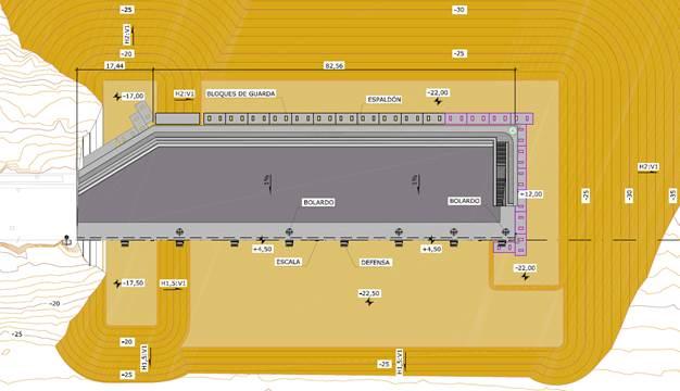 DESIGN PROJECT OF ENLARGEMENT OF SANTA CRUZ DE LA PALMA BREAKWATER, LA PALMA (CANARY ISLANDS)