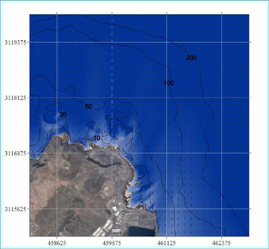 MARINE CLIMATE AND DILUTION STUDY TO FIND ALTERNATIVE LOCATIONS FOR THE NEW BIOMASS POWER PLANT, SPAIN