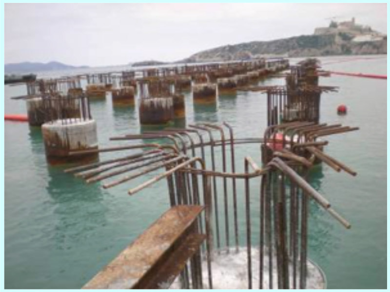 CONSTRUCTION PROJECT FOR WHARFS AND COMMERCIAL ESPLANADES AT THE BOTAFOC BREAKWATER AT THE PORT OF IBIZA, SPAIN