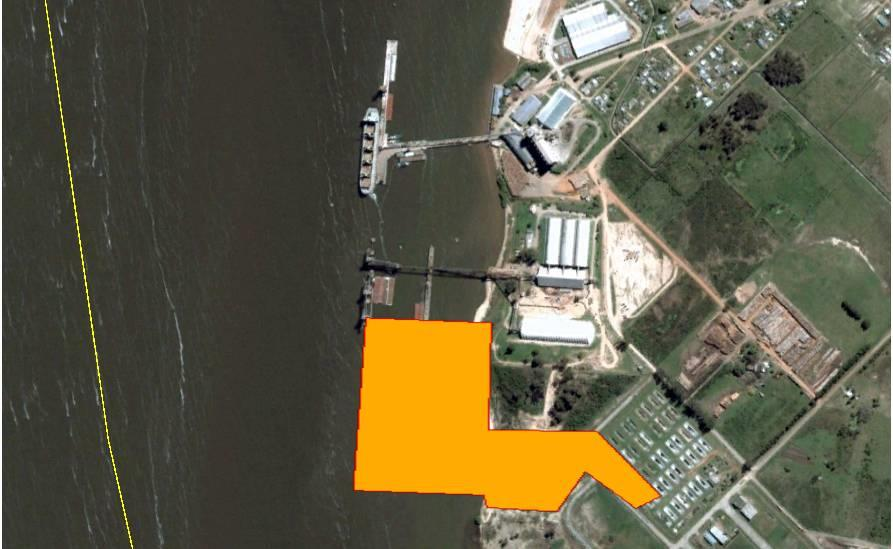 PRELIMINARY PROJECT FOR THE EXPANSION OF THE PORT TERMINAL IN NUEVA PALMIRA (URUGUAY)