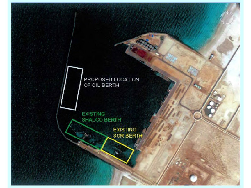 PORT OF HAMRIYAH (UNITED ARAB EMIRATES) OIL STORAGE TERMINAL  TENDER PROJECT