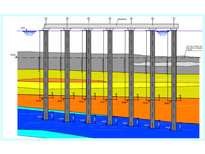 OPTIMISATION OF PILES FOR THE BOTAFOC ENHANCEMENT WORKS IBIZA, ISLAS BALEARES, SPAIN
