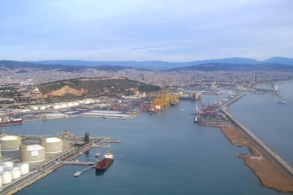 muelle    estacas    puerto  ampliación  Palma de Mallorca