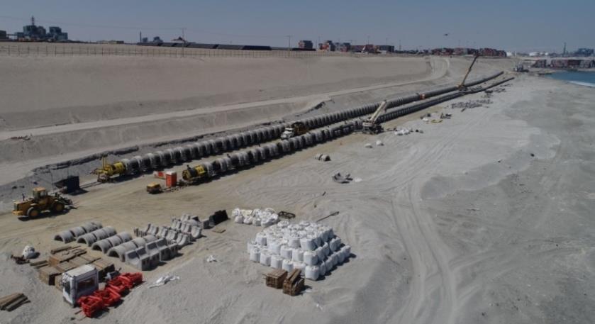 PROYECTO CONSTRUCTIVO DE LAS CONDUCCIONES SUBMARINAS DE LA DESALADORA DE SPENCE GROWTH (CHILE)