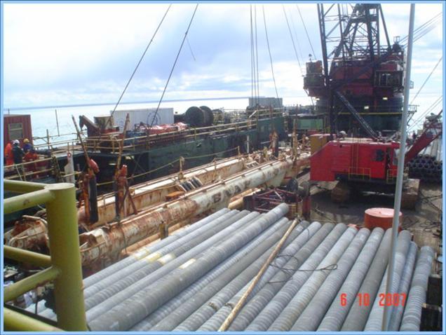 Foto de la terminal de hidrocarburos en Montevideo, Uruguay